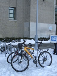 Yes, we do need year round bicycle parking! Minneapolis, MN